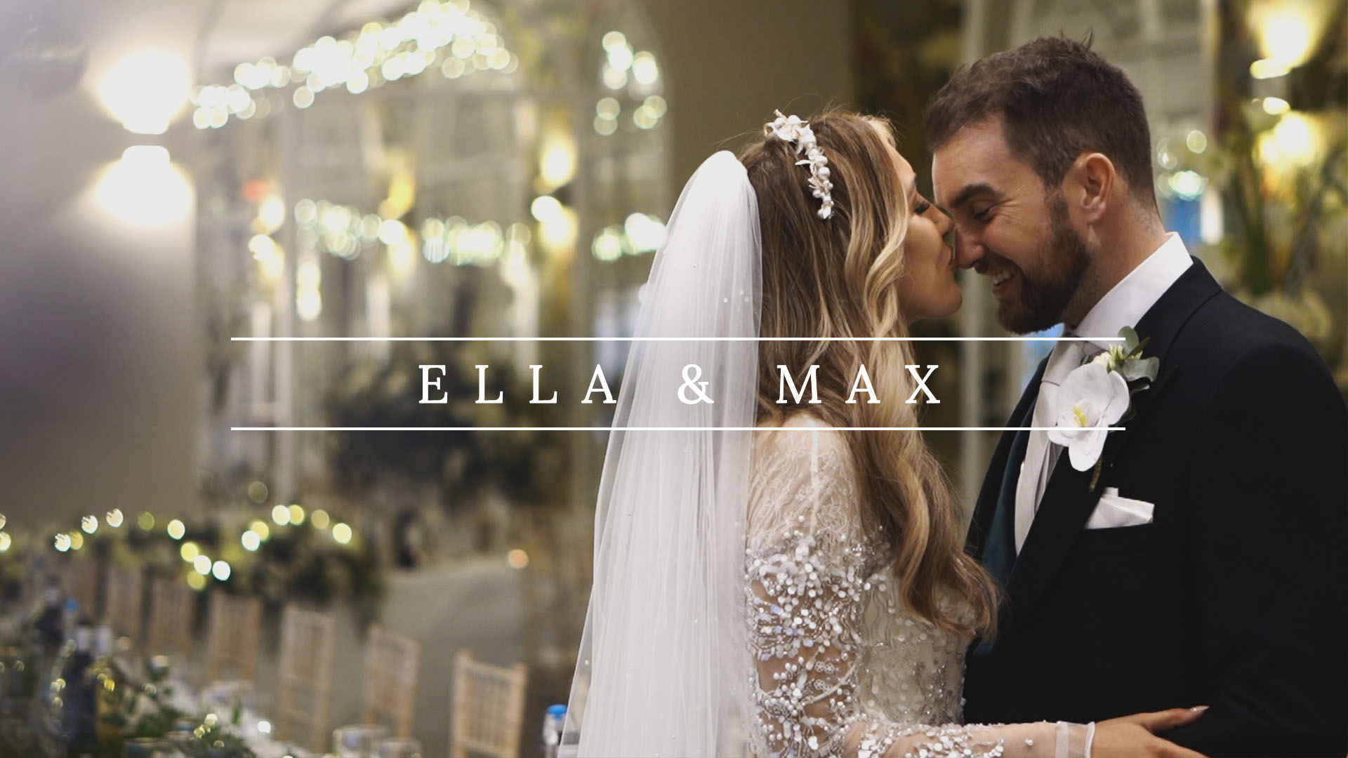 Ella & Max | Luxury Winter Wedding At Deer Park Country House, Devon