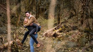 Couples photography session – An engagement session at Hawkridge Reservoir, Quantocks.